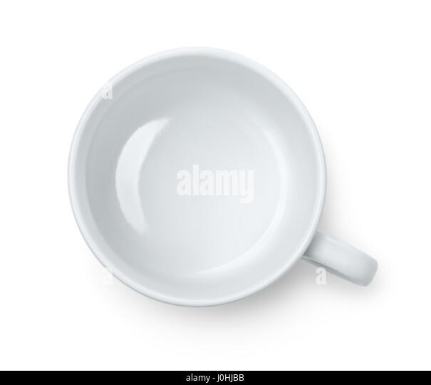 Empty Cup Top : Empty mug above stock photos
