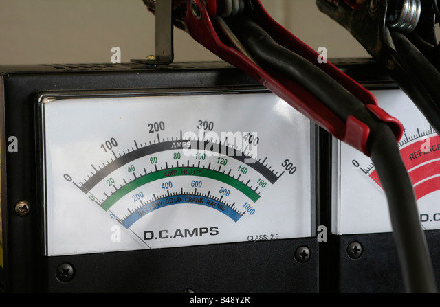 Auto Electric Instrument : Ammeter stock photos images alamy