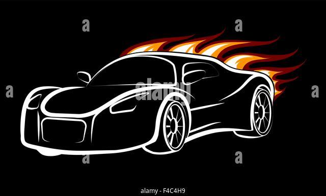 race car logos