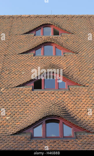 Dormer roofs stock photos dormer roofs stock images alamy for Eyebrow dormer windows