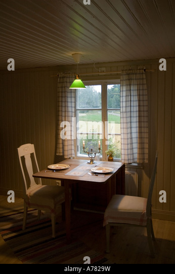 An Old Cottage In Central Sweden Converted To A Summer House   Stock Image