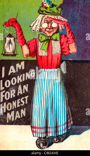 I Am Looking For An Honest Man