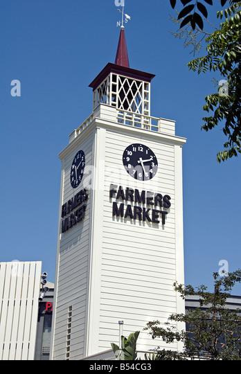 Farmers Market Los Angeles Fairfax Stock Photos Amp Farmers