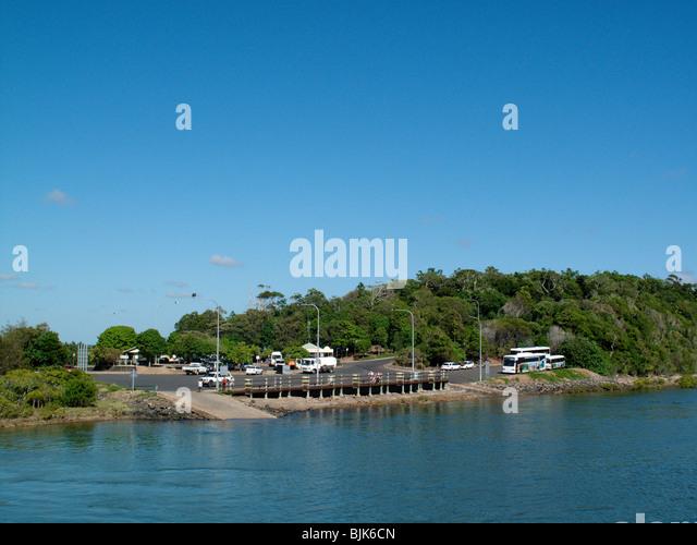 Ferry From Hamilton To Moreton Island