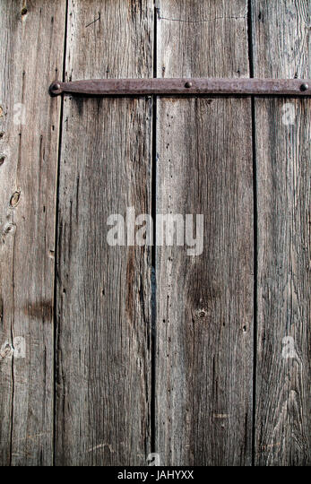 Old barn wood board  wall, Lancaster County, Pennsylvania, USA - Stock Image