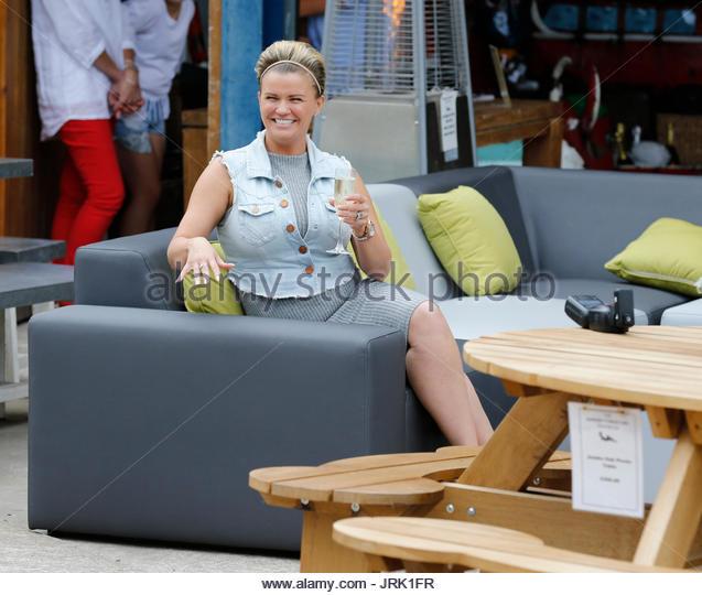 kerry katona kerry katona visits garden furniture centre at yew tree farm craft centre in