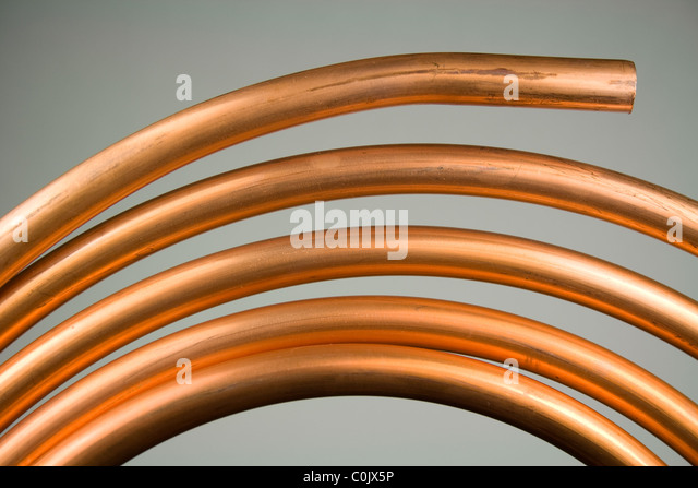 Copper Tubing Stock Photos Copper Tubing Stock Images
