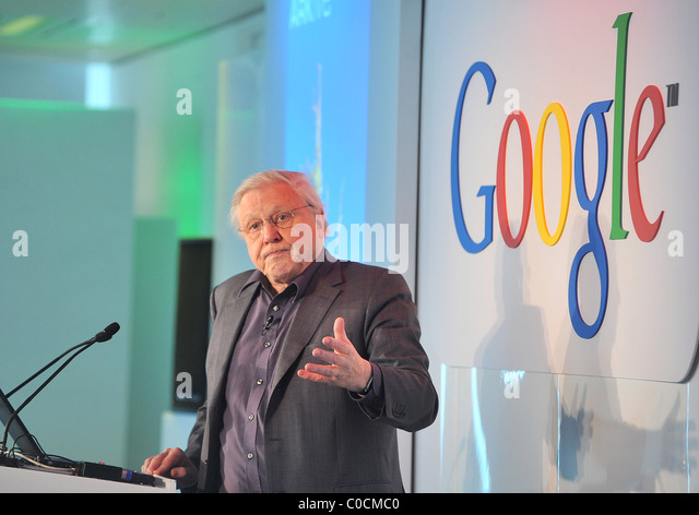 david attenborough the launch of google earth outreach held at belgrave house london england belgrave house google london office