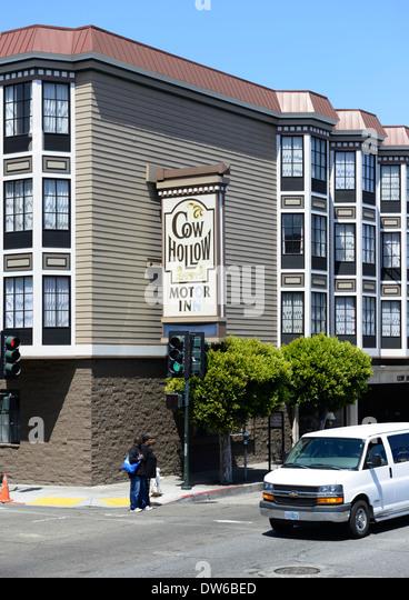 Cow hollow san francisco stock photos cow hollow san for Lombard motor inn san francisco california