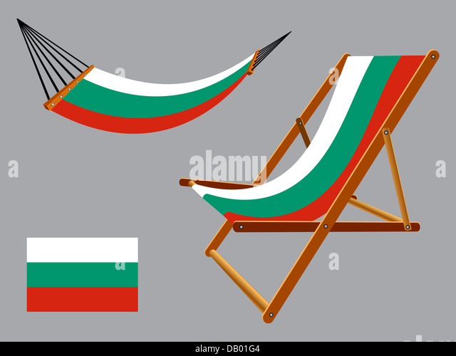 Congo flag hammock and deck chair Vector Image #31094 - RFclipart