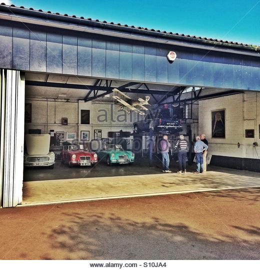 Cars Collector Garages: Classic Car Garage Stock Photos & Classic Car Garage Stock