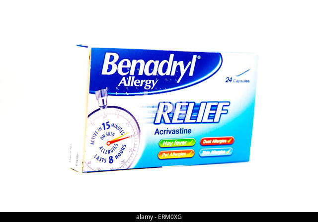Benadryl allergy deutschland / Cetirizin gewichtszunahme