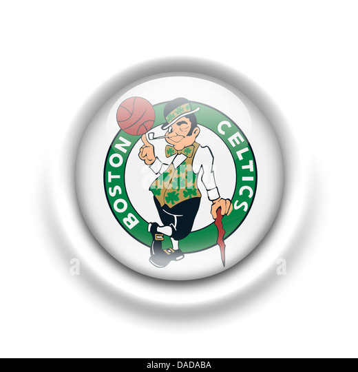 Boston Celtics Cut Stock Images Pictures Alamy Logo Symbol Icon