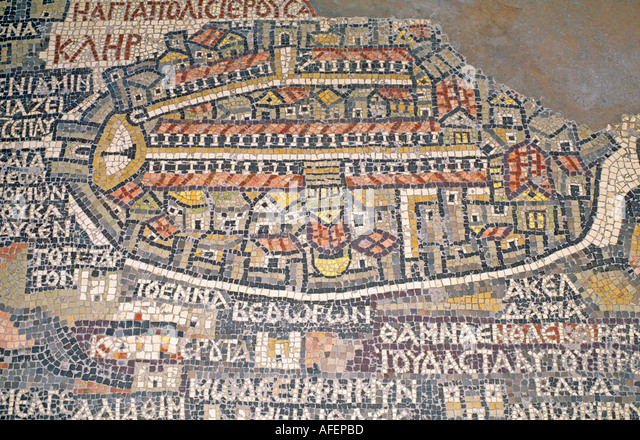 Map Of Jerusalem Stock Photos  Map Of Jerusalem Stock Images  Alamy