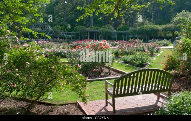 Alabama, Birmingham, Birmingham Botanical Gardens   Stock Image