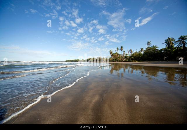Cahuita stock photos cahuita stock images alamy for Black sand beaches costa rica