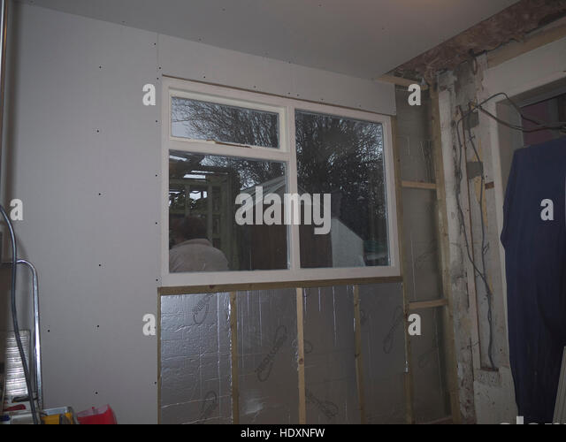 Stud Wall Insulation : Stud wall stock photos images alamy