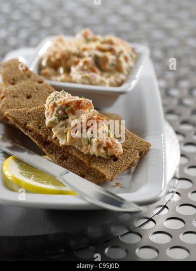 Finger food stock photos finger food stock images alamy for Canape spread crossword
