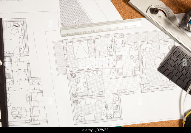 Architecture Blueprints 3d 3d architecture blueprint stock photos & 3d architecture blueprint