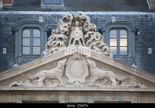 Musee picasso paris stock photos musee picasso paris for Jardin 41 rue du temple