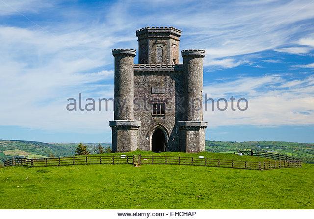 Paxtons Tower Llanarthne Carmarthenshire Wales Stock ... | 640 x 447 jpeg 88kB