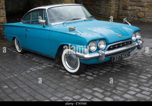A 1960u0027s British Ford Consul Capri car in Goathland North Yorkshire June 2015 - Stock Image & Ford Consul Stock Photos u0026 Ford Consul Stock Images - Alamy markmcfarlin.com
