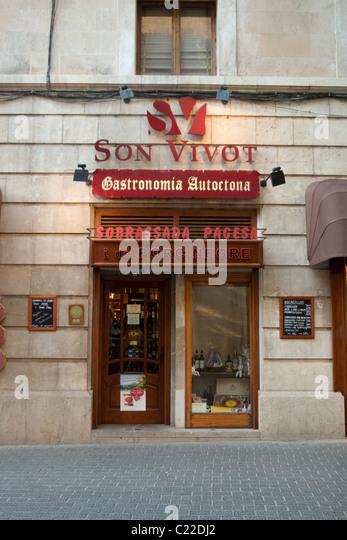 grocery store Palma de Mallorca Majorca Balearic Spain - Stock Image & Grocery Door Stock Photos \u0026 Grocery Door Stock Images - Alamy