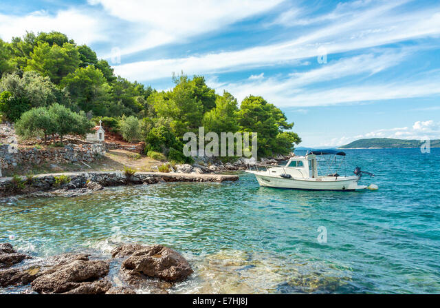 croatia bay stock photos croatia bay stock images alamy. Black Bedroom Furniture Sets. Home Design Ideas