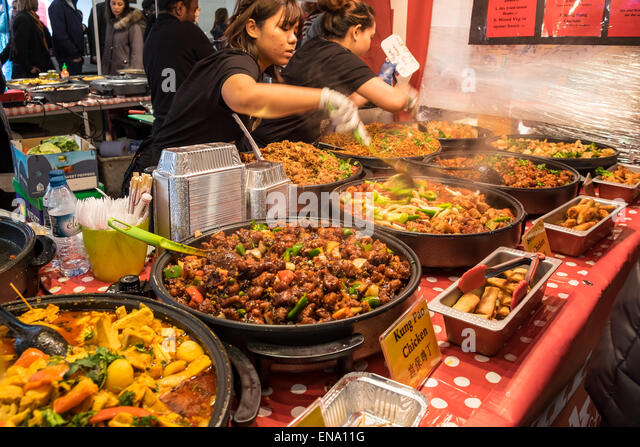 London Street Food Vendor Stew
