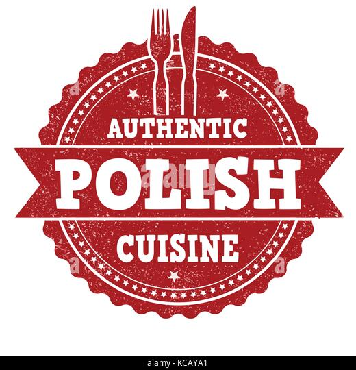 Postage stamp poland stock photos postage stamp poland for Authentic polish cuisine