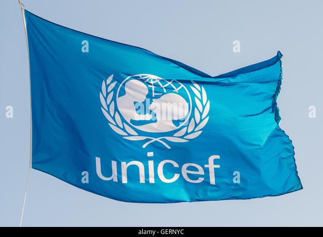 Unicef Flag Stock Photos & Unicef Flag Stock Images - Alamy
