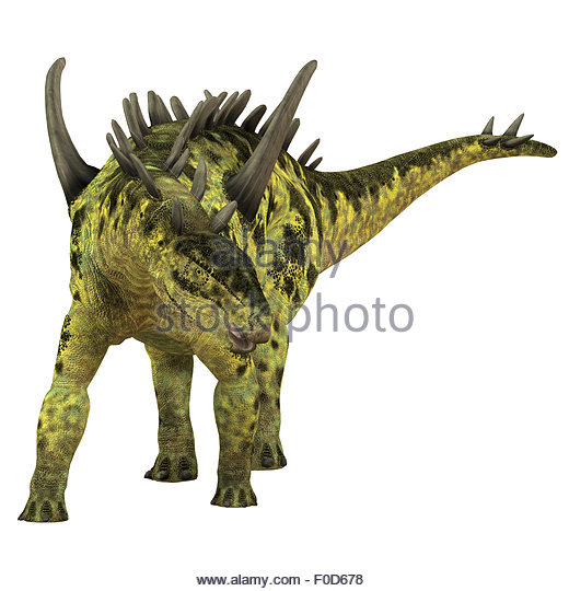Gigantspinosaurus Was A Herbivorous Stegosaur Dinosaur That Lived During The Jurassic Period Of China