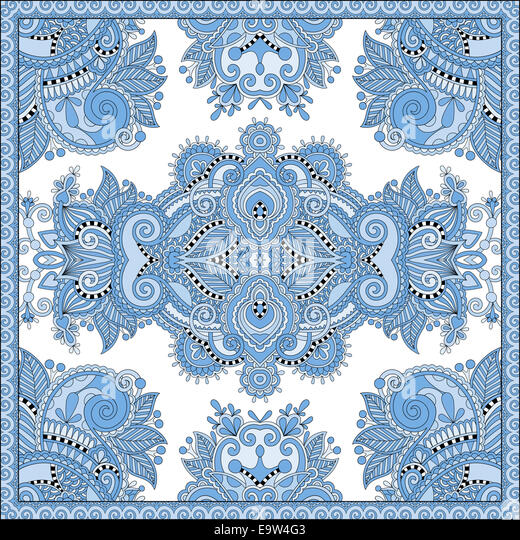 Paisley Pattern Border Stock Photos & Paisley Pattern ...