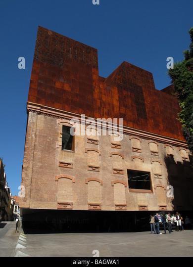Caixaforum stock photos caixaforum stock images alamy for Herzog de meuron madrid