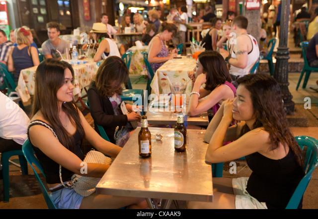 Asian mature bar girls