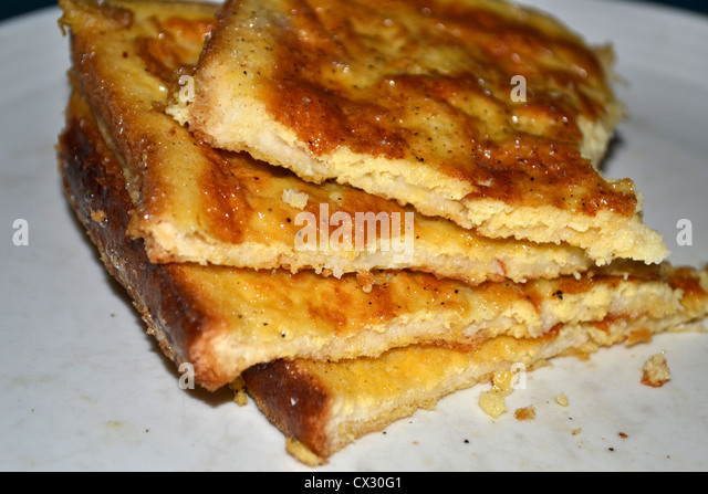Homemade French Toast Eggy Bread Stock Image