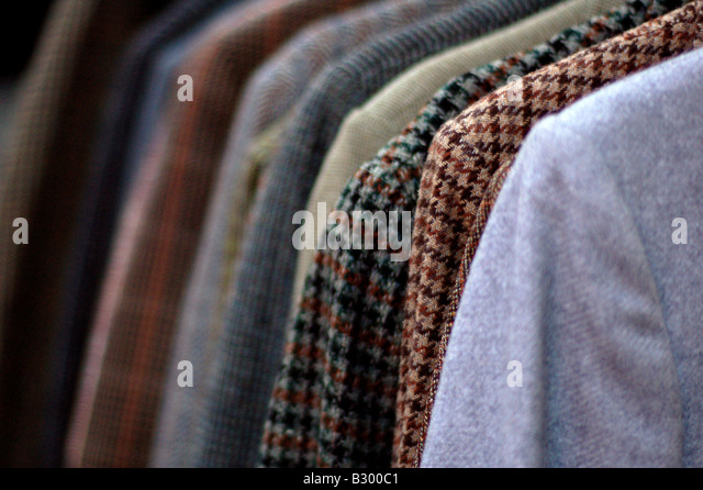 Mens Vintage Clothing Store Stock Photos & Mens Vintage Clothing ...