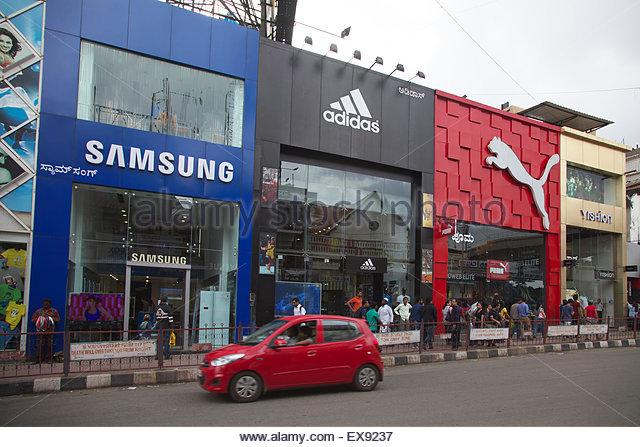 adidas showroom near mg road