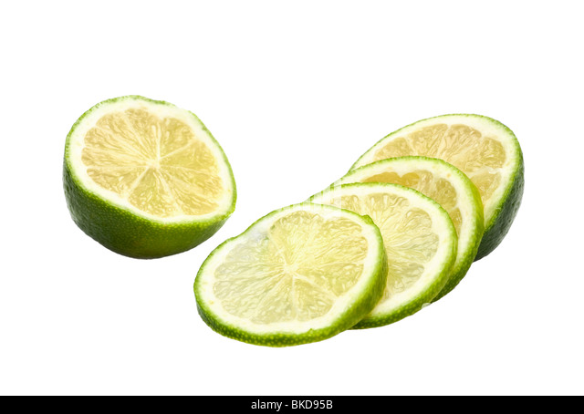 how to cut limes for garnish