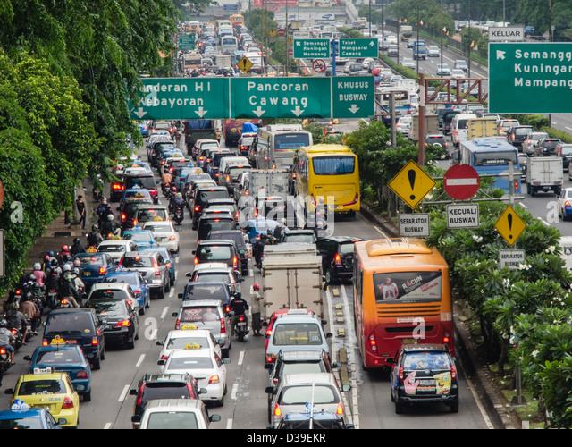 jakarta indonesia traffic - photo #28