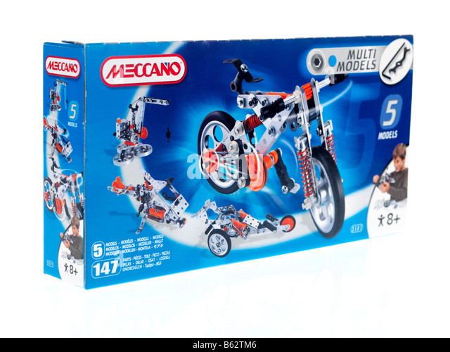 Best Meccano Sets And Toys For Kids : Meccano box stock photos images alamy