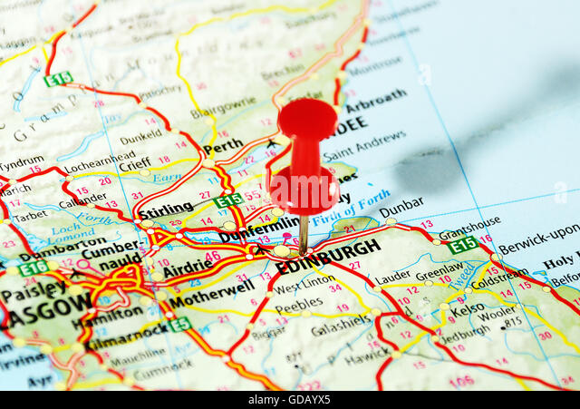 Scotland Road Map Photos and Scotland Road Map Images – Travel Map Of Scotland