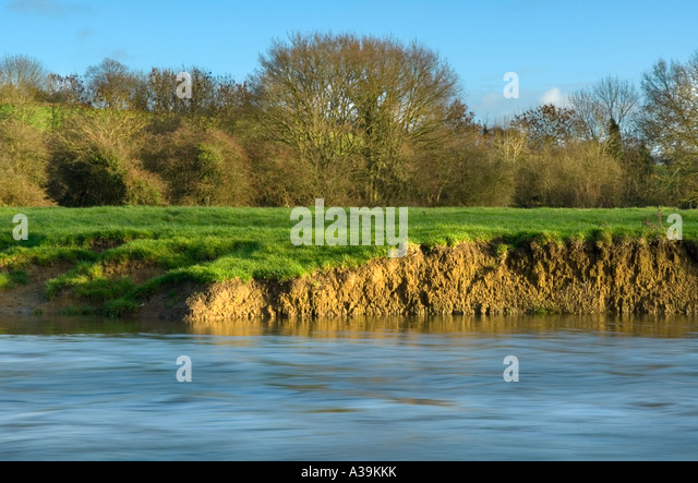 Riverbank Erosion Stock Photos Amp Riverbank Erosion Stock