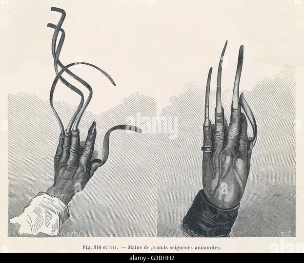 Long nails dating
