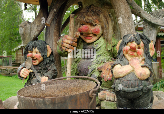 Valbackens stock photos valbackens stock images alamy for Garden trolls