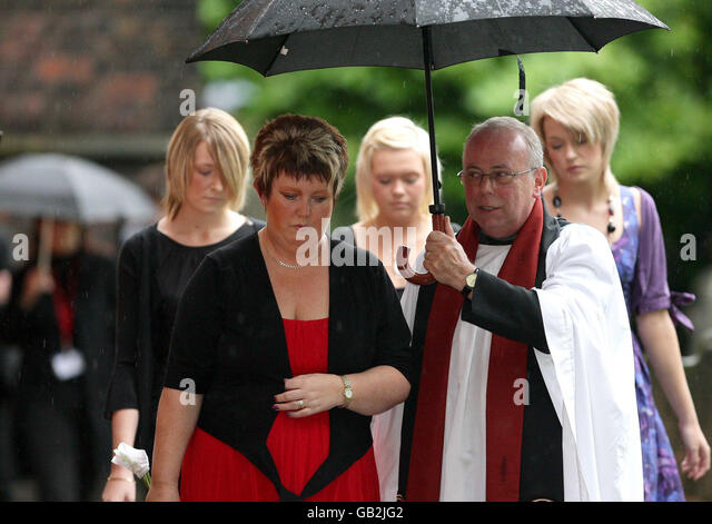 Memorial Service For Garry Newlove Attwater Stock Photos Images Alamy