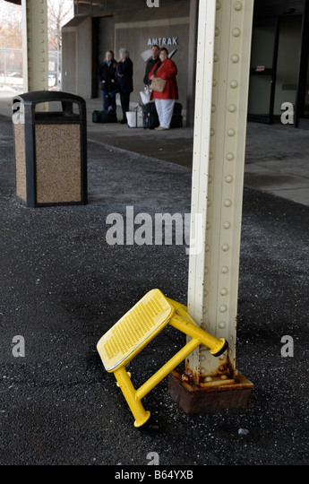 Yellow step stool at train station. - Stock Image & Step Stool Stock Photos u0026 Step Stool Stock Images - Alamy islam-shia.org