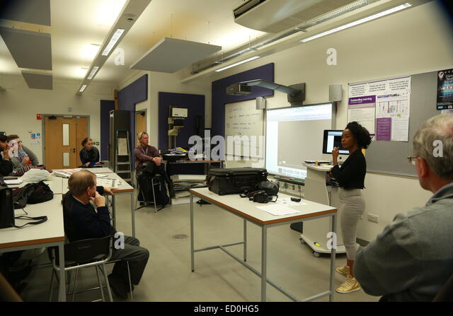 A College Lecture Taking Place In Sandwell West Midlands UK
