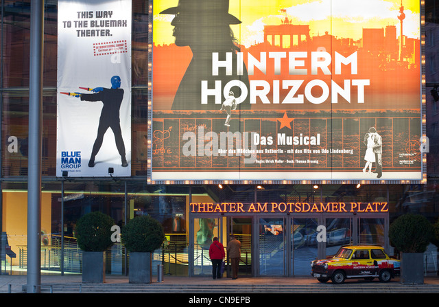 theater am potsdamer platz stock photos theater am potsdamer platz stock images alamy. Black Bedroom Furniture Sets. Home Design Ideas
