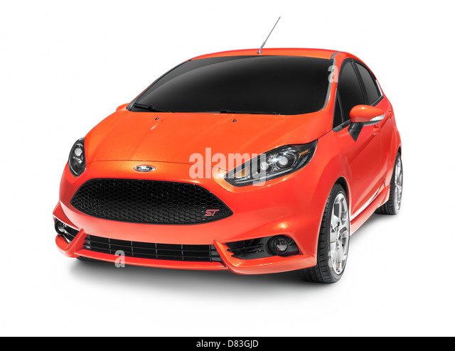 Orange red 2012 Ford Focus ST hatchback compact car isolated on white background with clipping path  sc 1 st  Alamy & Small Car Ford Stock Photos u0026 Small Car Ford Stock Images - Alamy markmcfarlin.com
